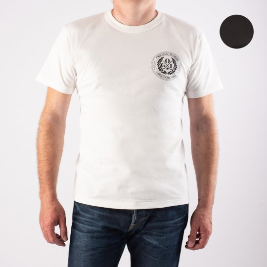OGL 6.2oz Ringspun T-shirt - Silkscreen Printed 'OGL Logo' - Charcoal or Cream