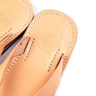 OGL X Dr. Sole Leather Thong Sandals
