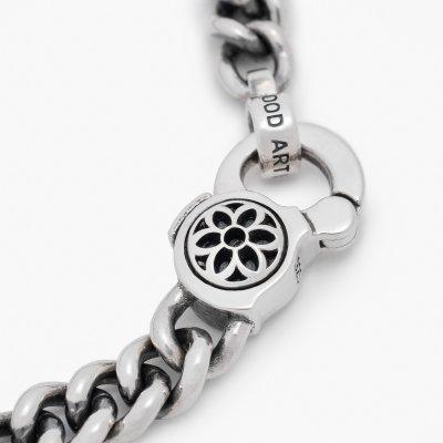 GOOD ART HLYWD Curb Chain No.4 Bracelet - Sterling Silver