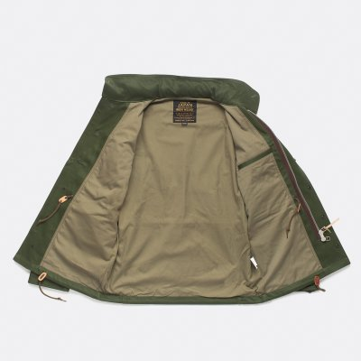 Sateen M65 Field Jacket - Olive