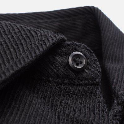 Heavy Kersey Western Shirt - Black