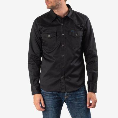 11oz West Point Western Shirt – Black
