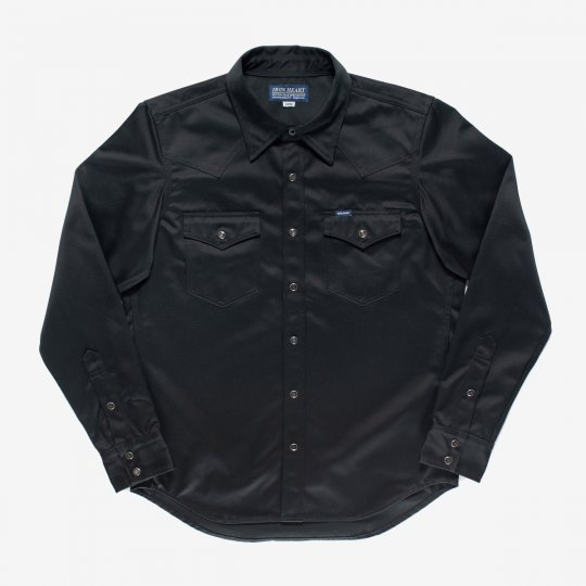 11oz West Point Western Shirt – Black