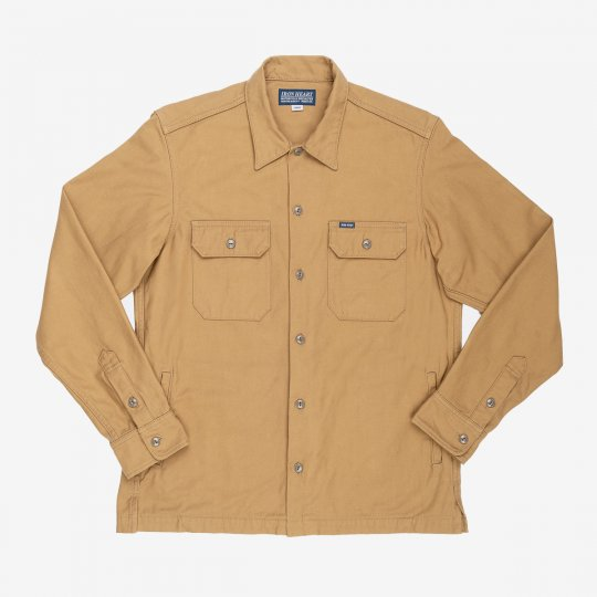 11oz Cordura® Satin Work Shirt - Brown