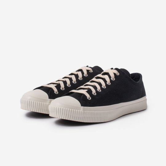 21oz Denim Low-Top Sneakers - Superblack