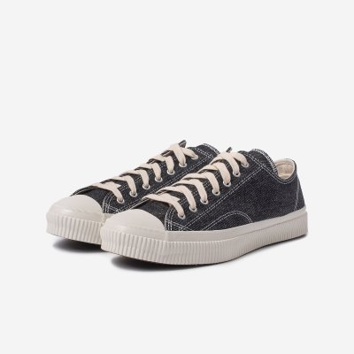 21oz Denim Low-Top Sneakers - Indigo