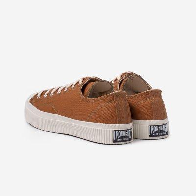 17oz Cotton Duck Low-Top Sneakers - Brown