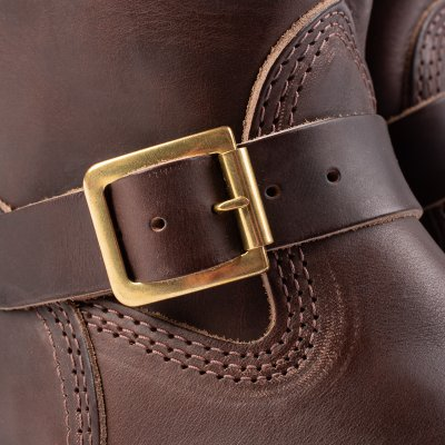 "Wesco® - 10"" Chromexcel Steerhide Engineer Boot - Brown. The ""Mister Lou"""
