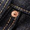 21oz Selvedge Denim Slim Tapered Shorter Inseam Jeans - Indigo