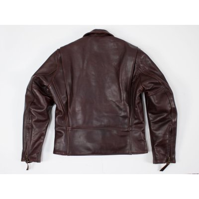 Horse Hide Café Racer with Collar