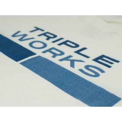 Triple Works Modern Print 5.5oz Loopwheeled T-Shirt