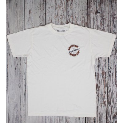 Triple Works 'New Feeling' Printed 5.5oz Loopwheeled T-Shirt