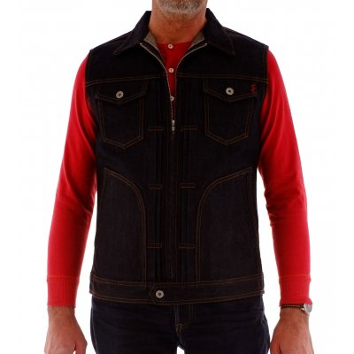17oz Selvedge Denim Vest