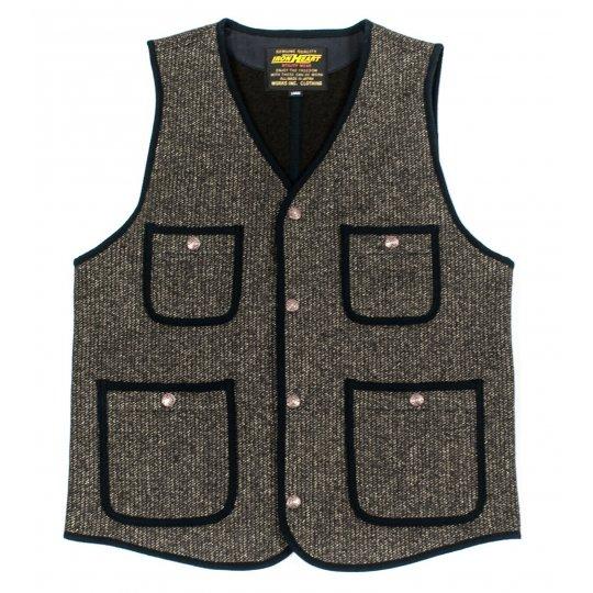 Wool/Cotton Beach Vest
