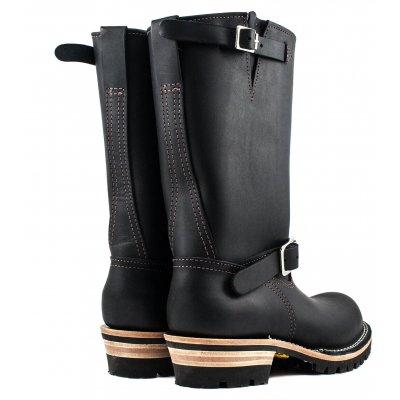 "Iron Heart/Wesco® - 11"" Black Engineer Boot"