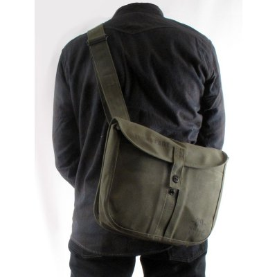 Waxed Cotton Duck Fishing Bag