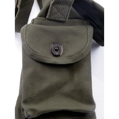 Waxed Cotton Military Bag