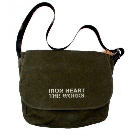 Waxed Cotton Messenger Bag