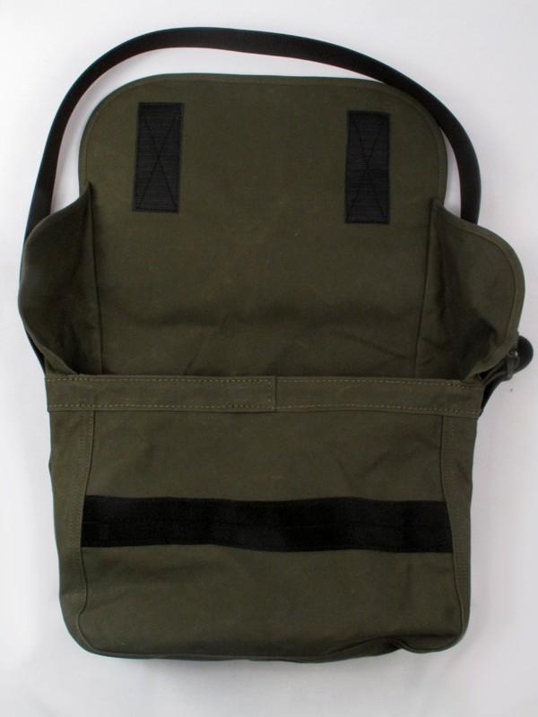 Ihe 13 Waxed Cotton Messenger Bag