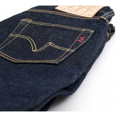Super Slim Tapered 21oz Indigo Selvedge