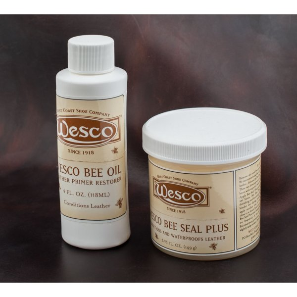 Wesco® Boot Dressings - Bee Oil/Bee Seal Plus