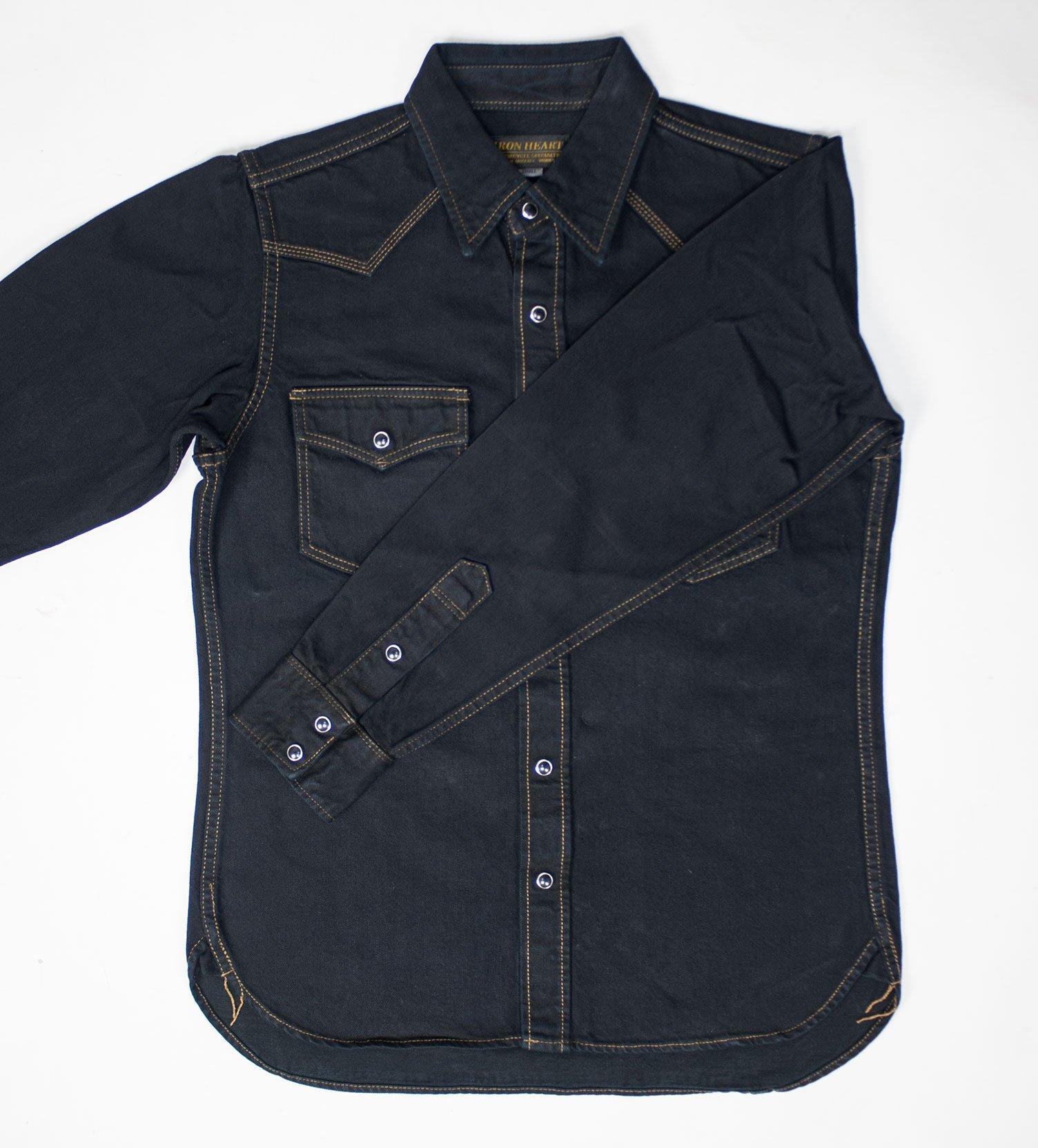 c713ff15a8 Overdyed 12oz Selvedge Denim Western Shirt