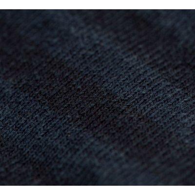Overdyed Extra Heavy Jersey Knit Prison Stripe Western