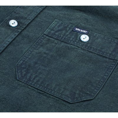 Indigo Overdyed Selvedge Chambray Work Shirt
