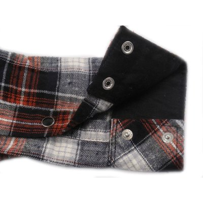Mini Herringbone Fall Weight Flannel Western Shirt