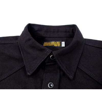 16oz Super Black Super Stealth Western Shirt