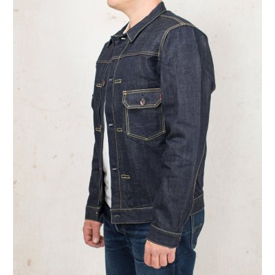 17oz Indigo Selvedge Denim Type II Jacket