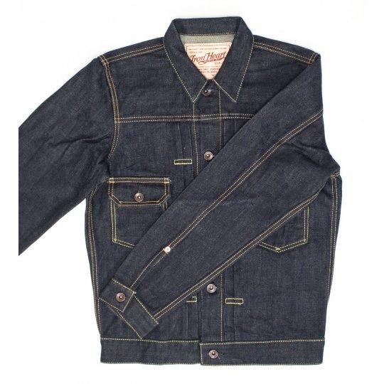 17oz Indigo Selvedge Denim Type II Jacket