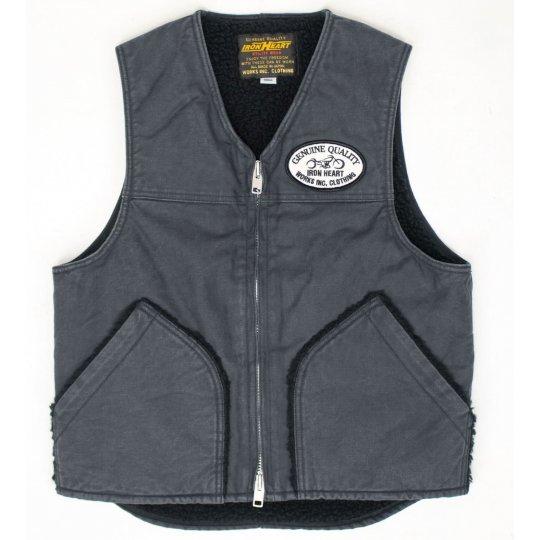 Fleece Lined Swedish Serge Vest