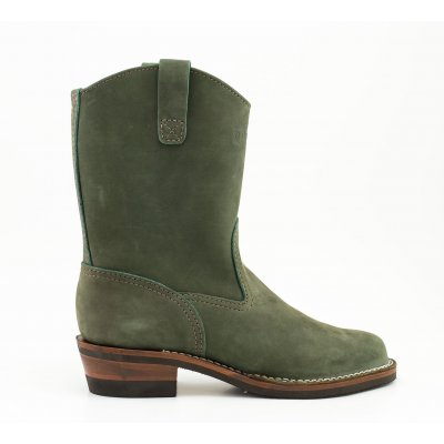 "The Bootery/Wesco® - 10"" Morrison - Olive Burlap"