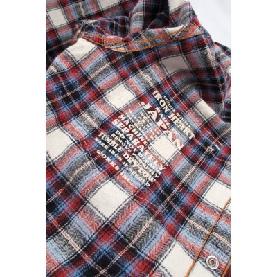 Mini Herringbone Fall Weight Flannel Western Shirt - Mark II