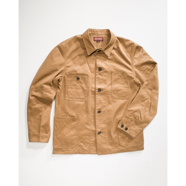 Khaki Chino Cloth Chore Jacket