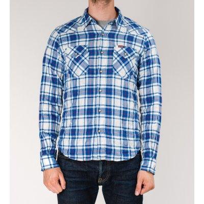 Mini-Herringbone Western Shirt