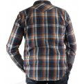 Mini Herringbone Spring Weight Flannel Western Shirt
