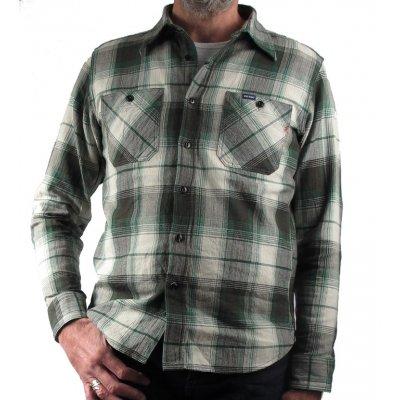 Spring Weight Flannel Work Shirt