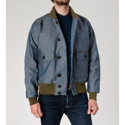 Cotton Herringbone A-1 Type Flight Jacket