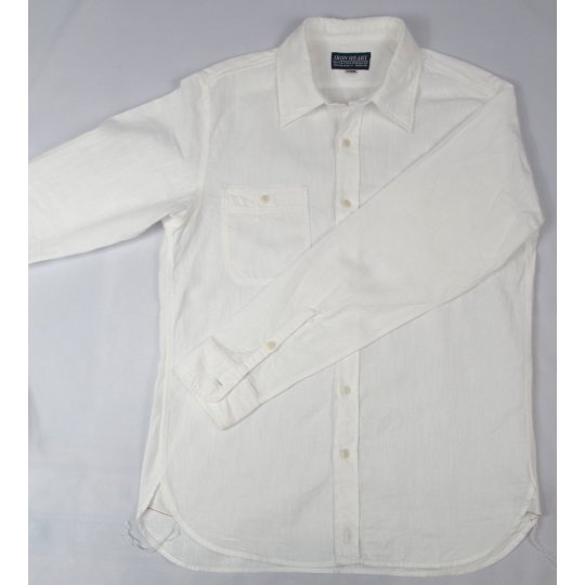 "White Twill Work Shirt - ""The Great White"""