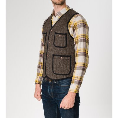 Wool/Cotton Beach Vest