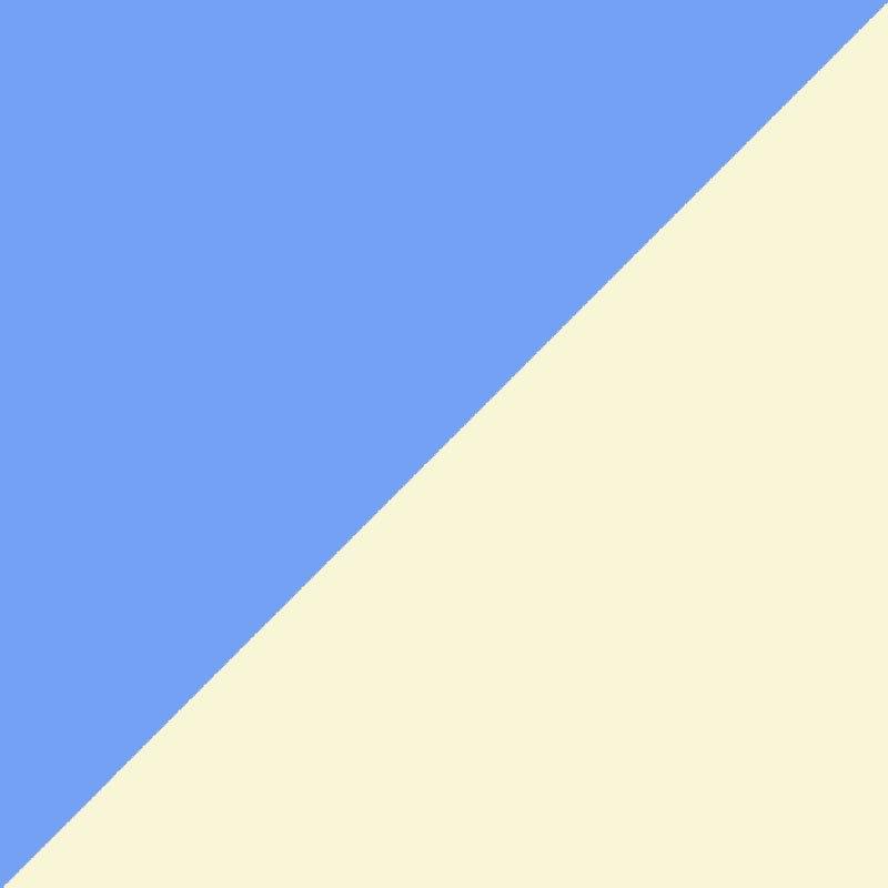 Blue/Cream