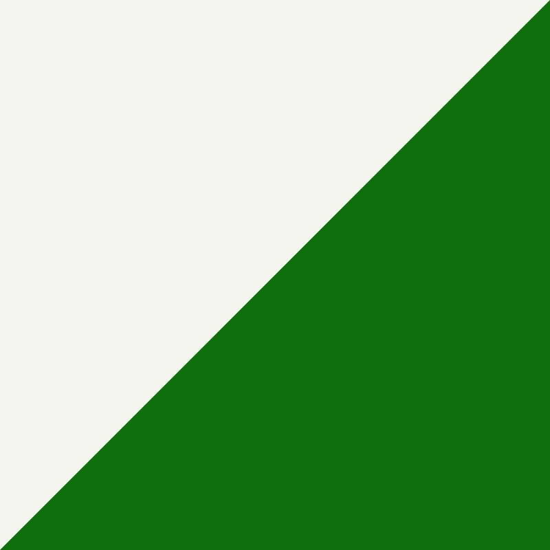 Green/Cream