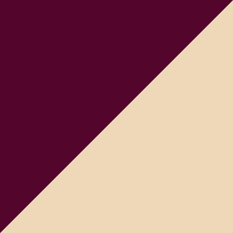 Burgundy/Natural